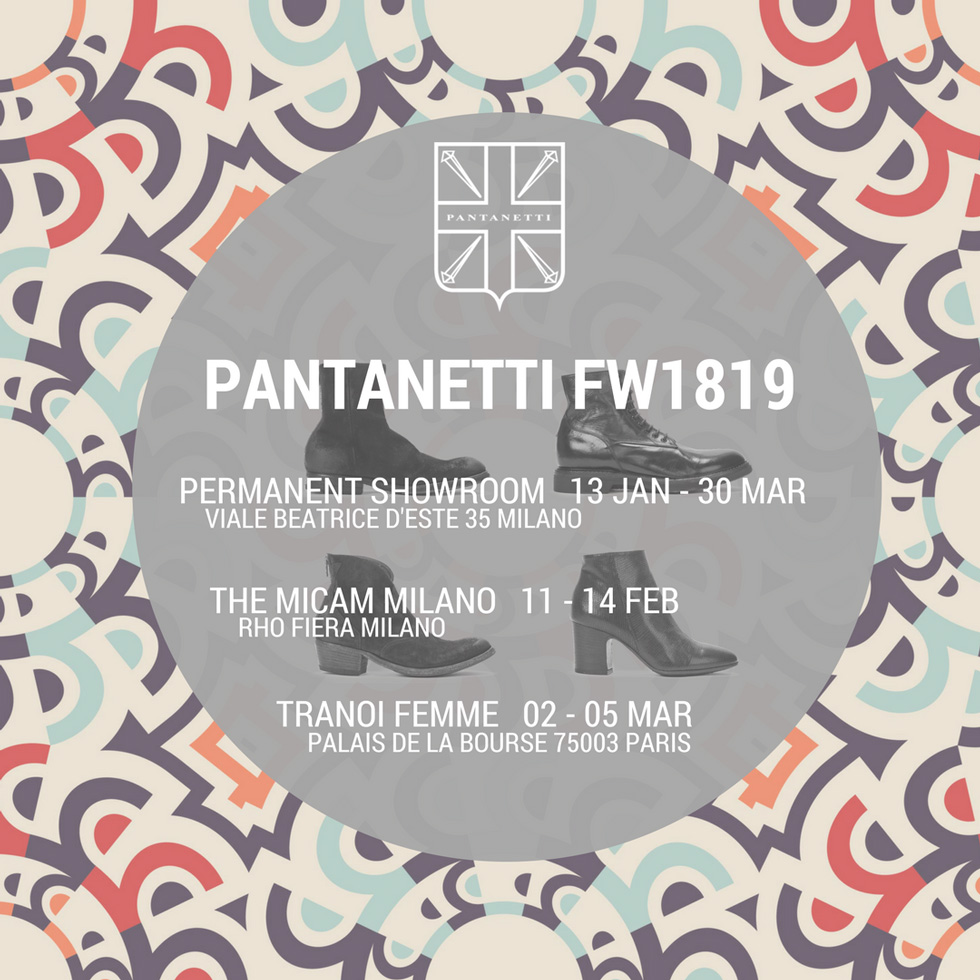 Pantanetti next events in 2018